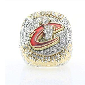 NBA Trophy Ring 2016 Cleveland Lebron rare